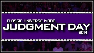 Classic WWE Universe Mode - WWE Judgment Day FULL Show!