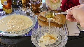 Afghani Qaimaq / Qaymaq Sar Sheer Recipe - Homemade Clotted Cream - Afghan Cuisine