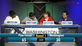 WSRE | Academic Challenge | Pine Forest vs Washington