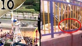 10 FREAKIEST Amusement Park Accidents   TWISTED TENS #10