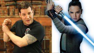 Expert Sword Fighter Reviews Star Wars Lightsaber Battle Scenes
