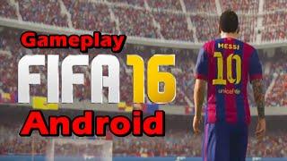 FIFA 16 Ultimate Team para Android - Gameplay Português BR 1080p - jogos de futebol Android