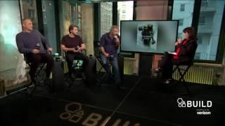"Mel Gibson, Vince Vaughn And Luke Bracey Discuss Their Film, ""Hacksaw Ridge""   BUILD Series"