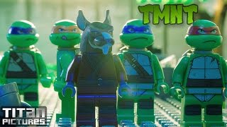 TMNT 2014 Lego Movie