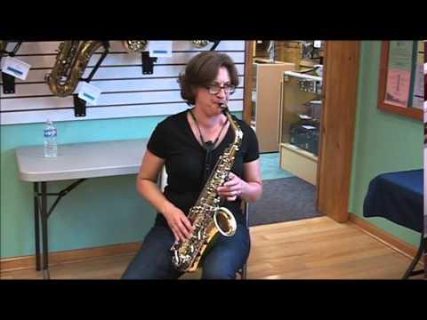 Kathy Mitchell Yamaha Alto Sax YAS 23