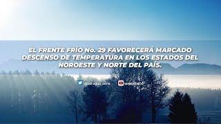 18 de enero de 2019 Pronóstico del Tiempo