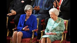 The Queen, Theresa May and Prince Charles address Commonwealth leaders - 5 News