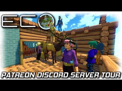 Eco Global Survival   Amazing! Patreon DIscord Server Tour   EP1   Eco Gameplay