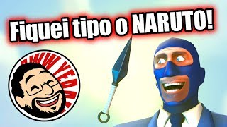 Team Fortress 2 - SPY DE KUNAI E DEAD RINGER!