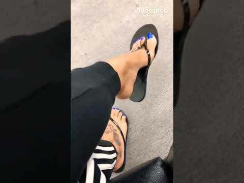 Deedeerican Blue Toes