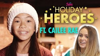 Justice Holiday Heroes: Episode 1 💗 Ft. Jessalyn Grace and Cailee Rae