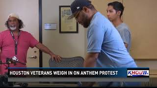 Veterans weigh in on NFL national anthem protests