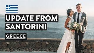SANTORINI WEDDING & VILLA TOUR | Greek Island Luxury | Greece Travel Vlog