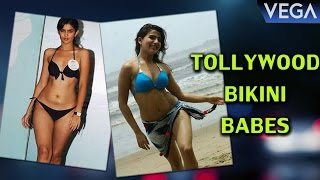 Tollywood Heroines Posing Hot in Bikini Avatar
