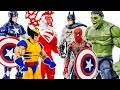 Avengers Hulk Family Toys Collection Appeared Save Car Kids & Foods #Toymarvel