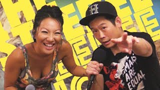 Asa Akira on The Steebee Weebee Show [s2 ep12]