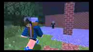 Slenderman music video by CaptainMinerTV no.8