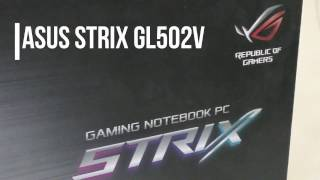 Asus Strix GL502V review - compact gaming laptop