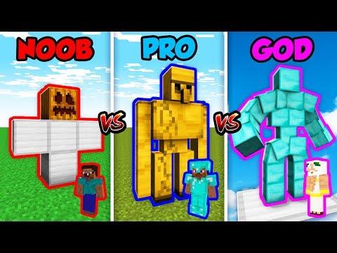 Xxx Mp4 Minecraft NOOB Vs PRO Vs GOD IRON GOLEM In Minecraft Animation 3gp Sex