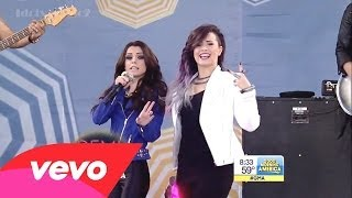 Demi Lovato - Really Don't Care ft. Cher Lloyd  (Live at GMA 6.6.14)