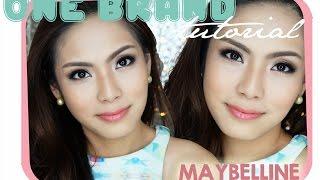 One Brand Tutorial - Maybelline || TRIXIE WILONA (Bahasa Indonesia)