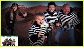 Cops and Robbers in the Desert! / That YouTub3 Family I Family Channel