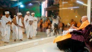 Parshad Diksha Ceremony - Guruhari Darshan 7 May 2016, Sarangpur, India
