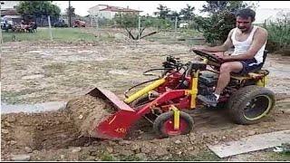 تاختراعات يدوية بدائية جدا !تستخدم للادوات الزراعية