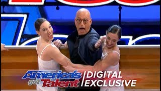 Howie Rocks The Boat with Diavolo - America's Got Talent 2017 (Extra)
