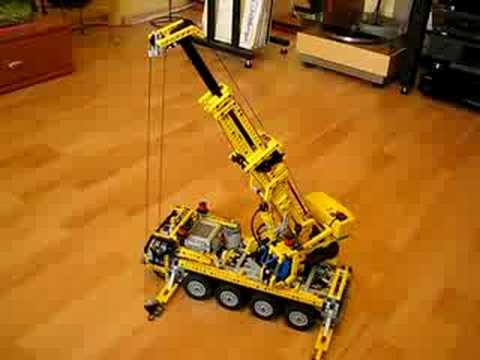 LEGO Technic Motorized Crane 8421 8275