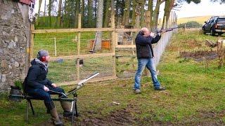 Shooting, horse sh*t & chopping wood - Scottish farms!