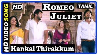 Romeo Juliet Tamil Movie | Scenes | Kankal Thirakkum Song | Hansika call her wedding off with Vamsi