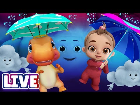 Rain Rain Go Away & Many More Baby Songs & 3D Nursery Rhymes by ChuChu TV – LIVE Stream