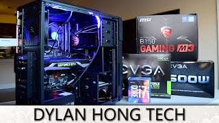 $1,000 VR Ready 2017 Gaming PC Build! + Name My PC!