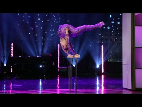 'AGT' Finalist Sofie Dossi's Gravity-Defying Performance!