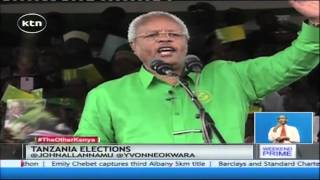 Former Tanzanian Prime Minister Edward Lowassa goes for the country's top seat