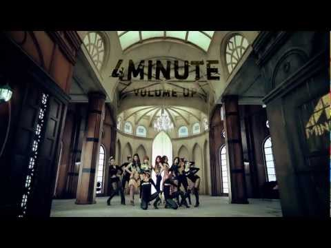 4MINUTE Volume Up Official Music Video
