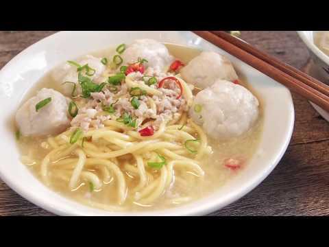Xxx Mp4 Singapore S Favourite Teochew Fishball Noodle Soup 潮州鱼圆面汤 3gp Sex