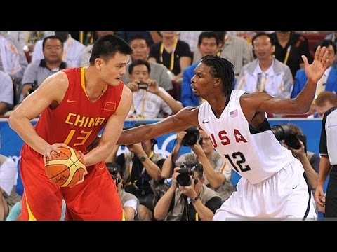 watch China vs USA 2008 Beijing Olympics Men's Basketball Group Match FULL GAME HD 720p English