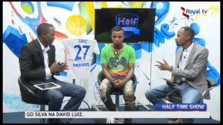 Savio Nshuti Dominique  Rayon sports FC Forward Hosted In Half time Show