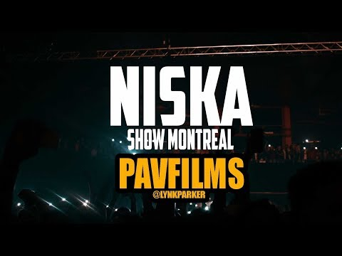 Niska Show Montreal Olympia Shot By Pavfilms