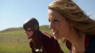 Supergirl crossover the flash | supergirl 1×18 español latino