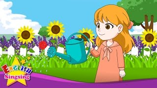 Mary, Mary, Quite Contrary - Flower Song - Popular Nursery Rhyme - Kids song with lyrics