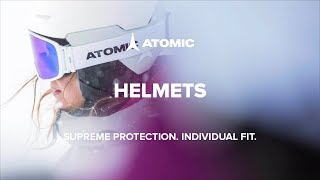 Atomic Helmets with AMID 2018/19 | Supreme protection. Individual Fit.