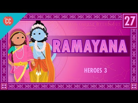 Rama and the Ramayana Crash Course World Mythology 27
