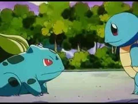 Ash Se despide de Squirtle