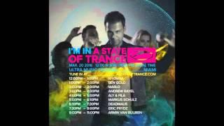 Armin van Buuren (Warm up set) - Live @ A State Of Trance 750 Special, UMF 2016 (20.03.2016)