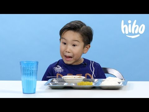 American Kids Try School Lunches from Around the World Ep 2