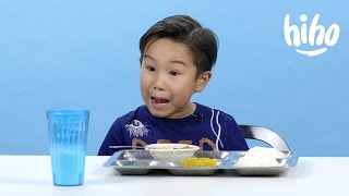 School Lunches | American Kids Try Food From Around the World - Ep 2 | Cut
