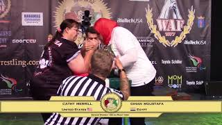 Senior Women +80 kg RIGHT |World Armwrestling Championship 2017|